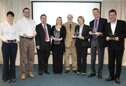 Charity Learning Awards winners