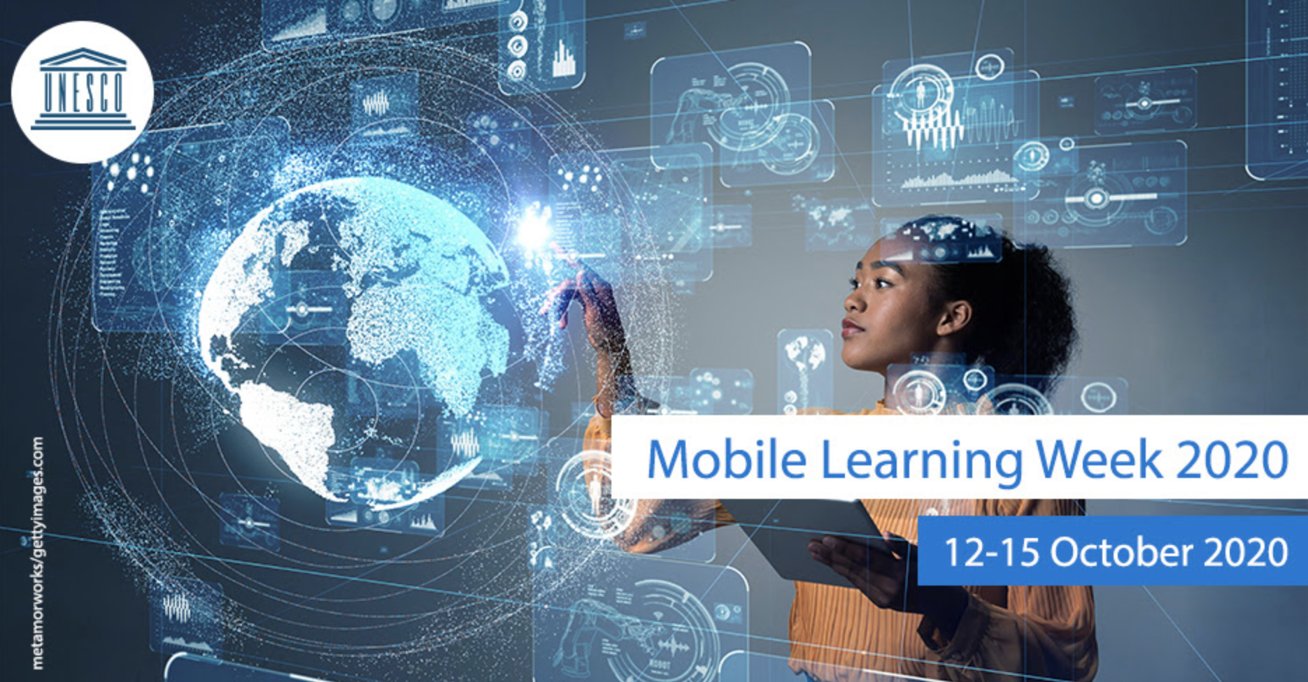 The online edition of Mobile Learning Week 2020 will be held from 12 to 15 October