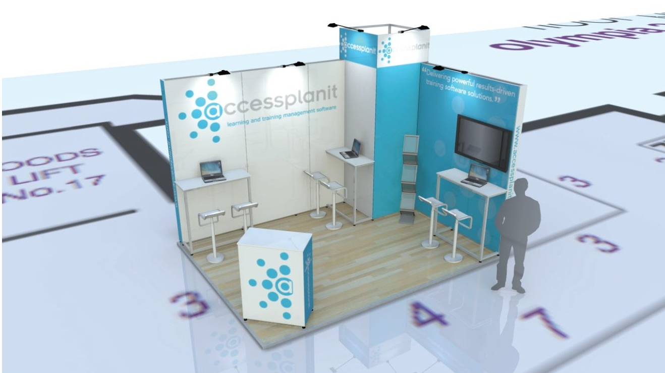 accessplanit at stand 67- Learning Technologies Exhibition