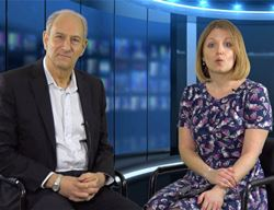 Kim George and Nigel Paine will host LNTV's anniversary programme on 29 October