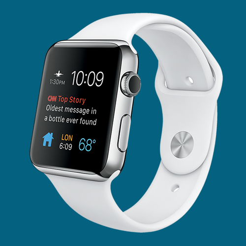 Participants can win an Apple Watch Sport – worth up to £339