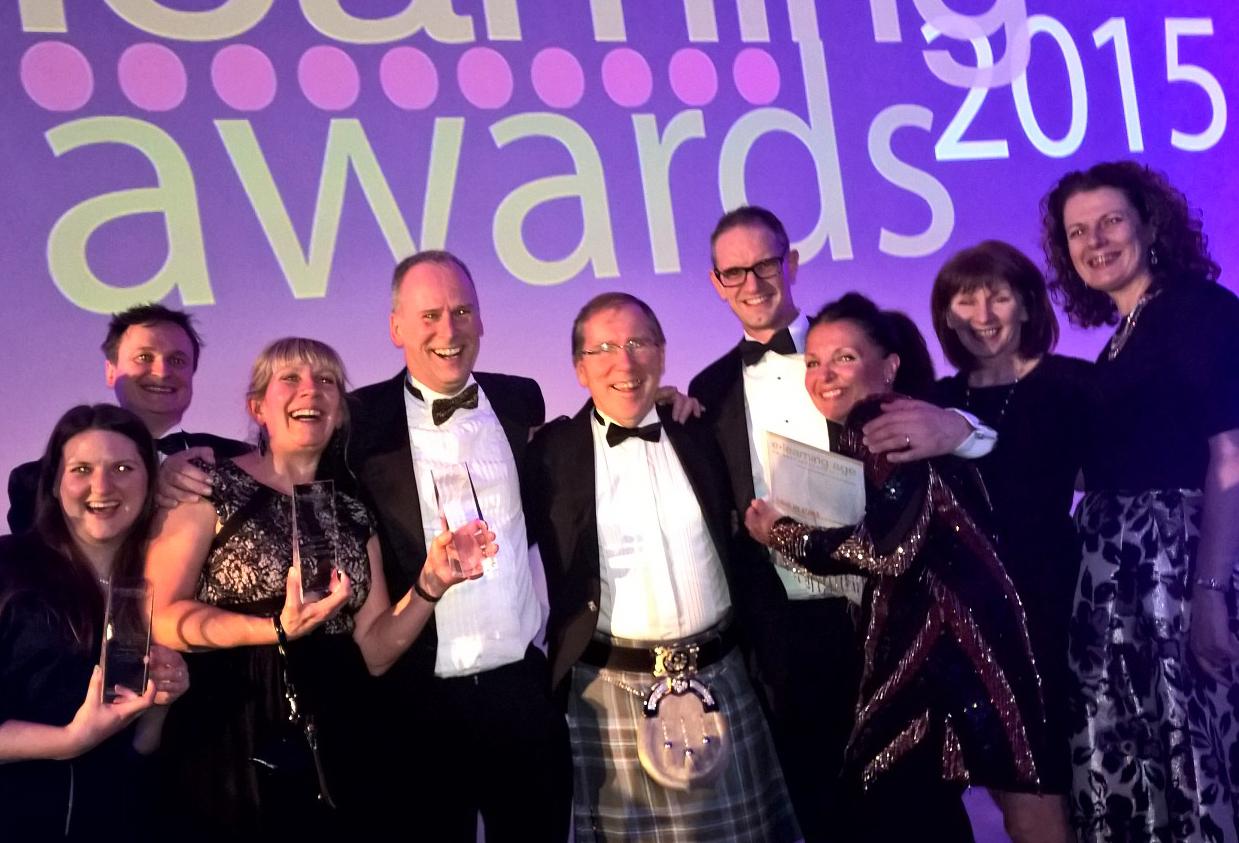 E-learning development company of the year award