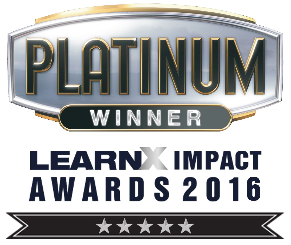 Growth Engineering and LafargeHolcim won Platinum in the 'Best Learning Project - Certification' category