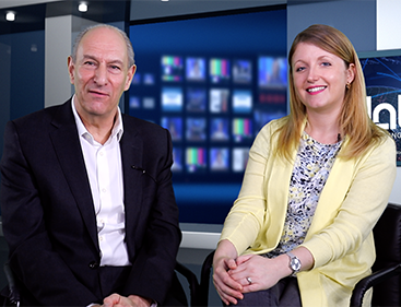 Nigel Paine and Kim Edwards: hosts of Learning Now tv