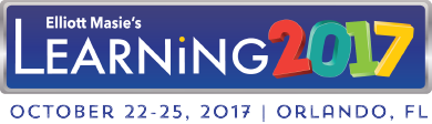 Learning 2017 - Oct 22-25 in Orlando, FL