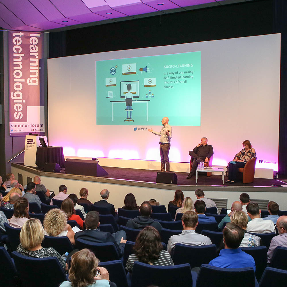 Learning Technologies Summer Forum takes place 12 June at London Olympia