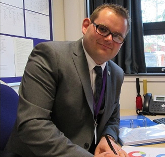 Wayne Oldfield is the Trust Safeguarding Manager at the Greenwood Academies Trust