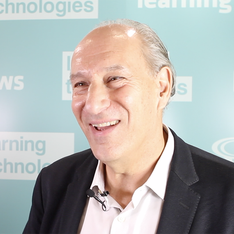 Author and presenter on learning and leadership, Nigel Paine talking to Learning News about building a learning culture at LTSF 2018
