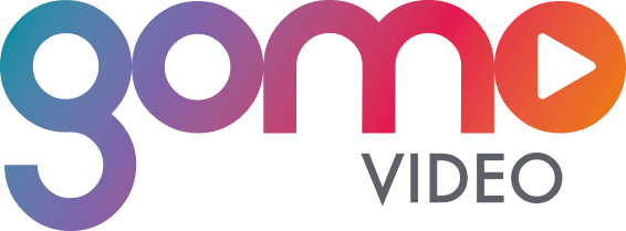 The gomo video logo