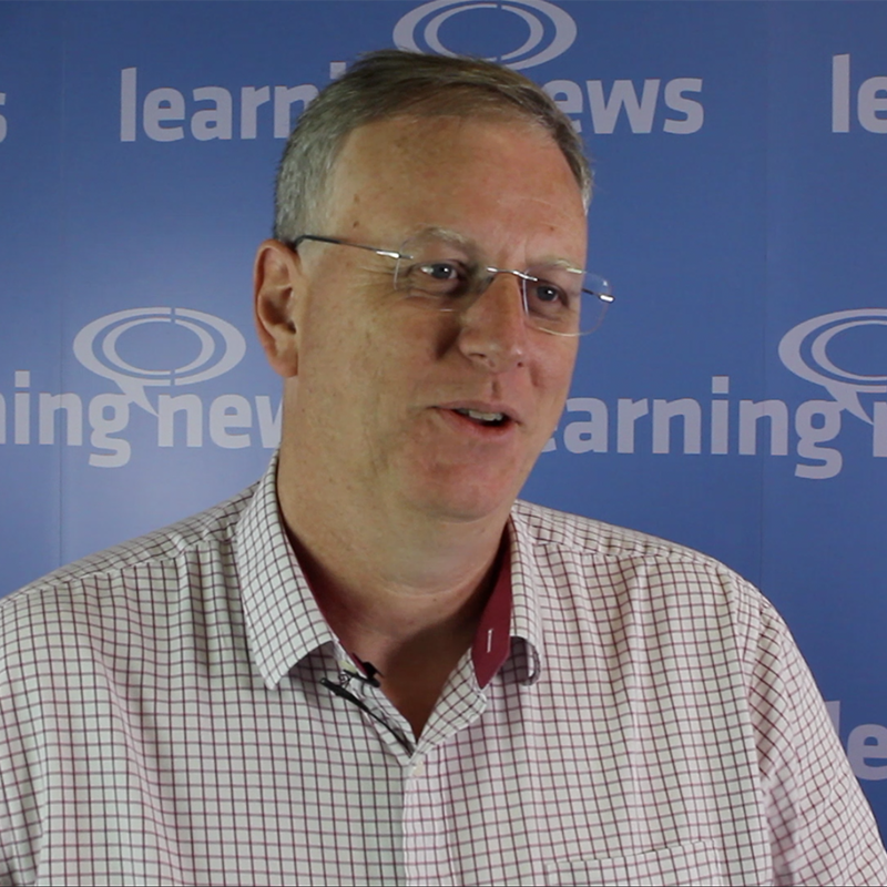 David Wilson, CEO, Fosway Group, interviewed for Learning News' Learning Leaders series