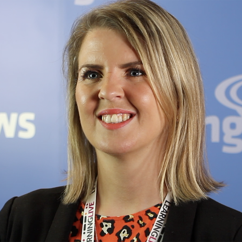 Gemma Critchley, Global Head of Technology and Innovation for Learning at Aviva