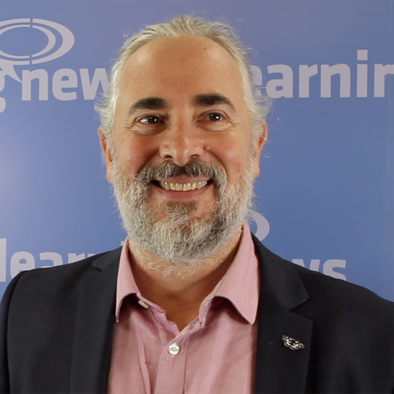 David Perring, Director of Research, Fosway Group, talking to Learning News about innovation strategy in learning technology