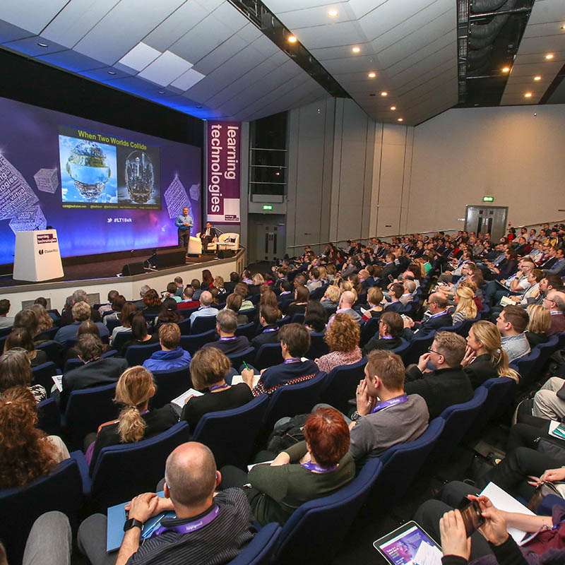 Dani Johnson, Steve Wheeler and David Kelly to identify which technologies will have an impact on workplace learning at #LT19uk