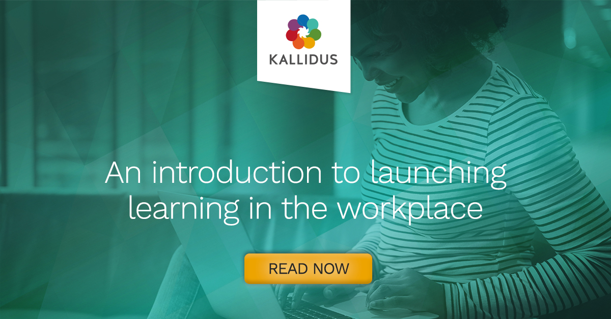 An introduction to launching learning in the workplace graphic