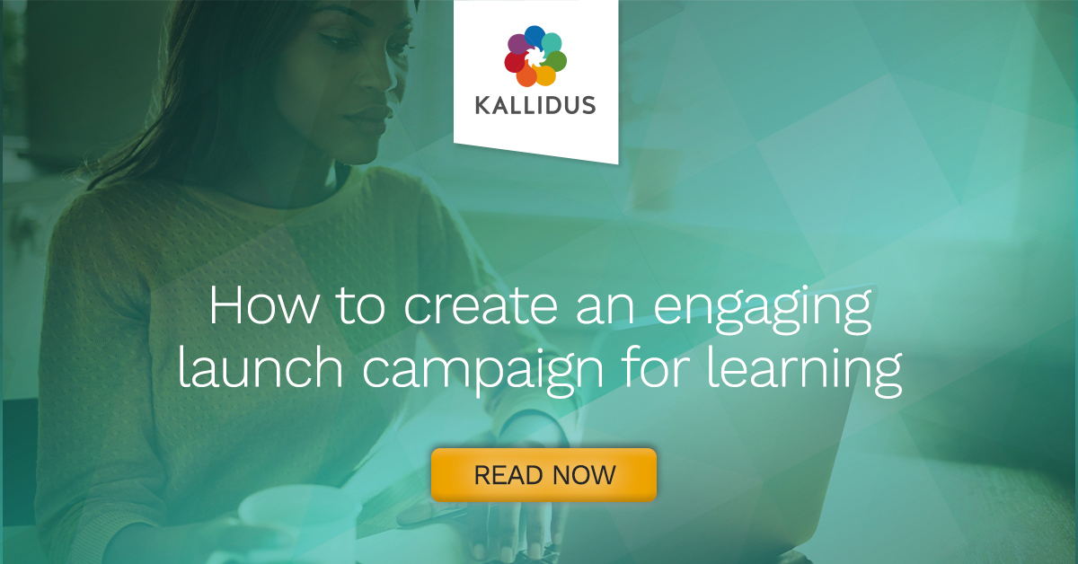 How to create an engaging launch campaign for learning graphic