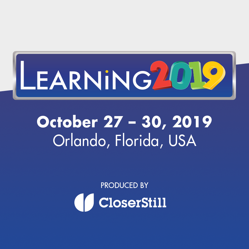 CloserStill Media presents Learning 2019