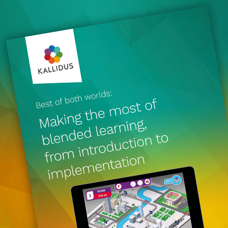 A look at Kallidus' new free guide to blended learning