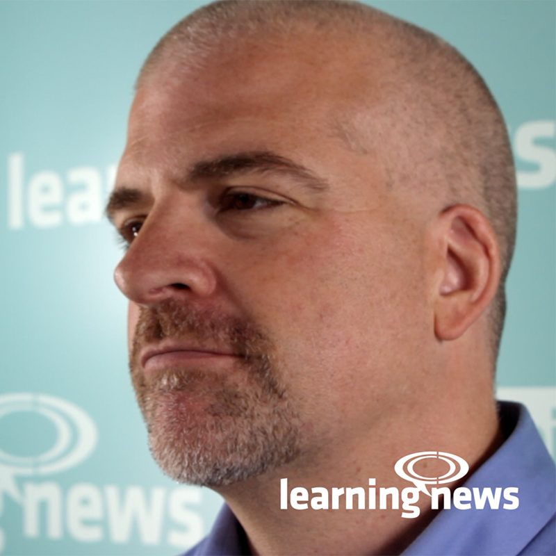 David Kelly, The eLearning Guild, talking to Learning News at LTSF 2019