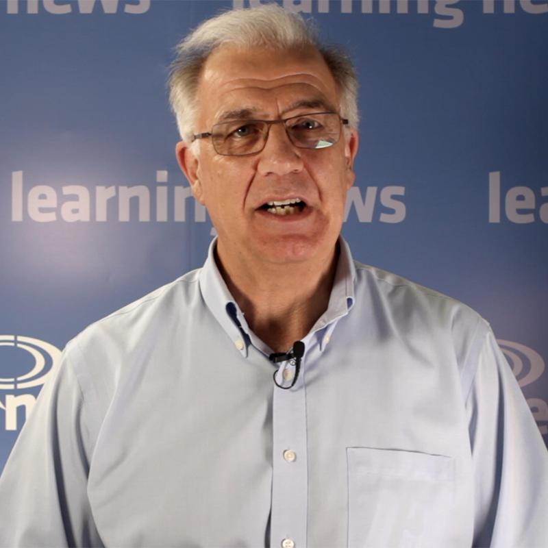 Paul Matthews talking to Learning News ahead of World of Learning 2019