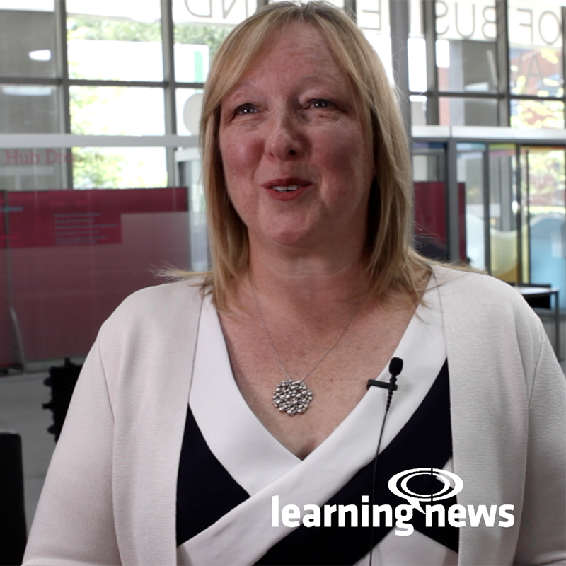 Krystyna Gadd talking to Learning News ahead of World of Learning 2019