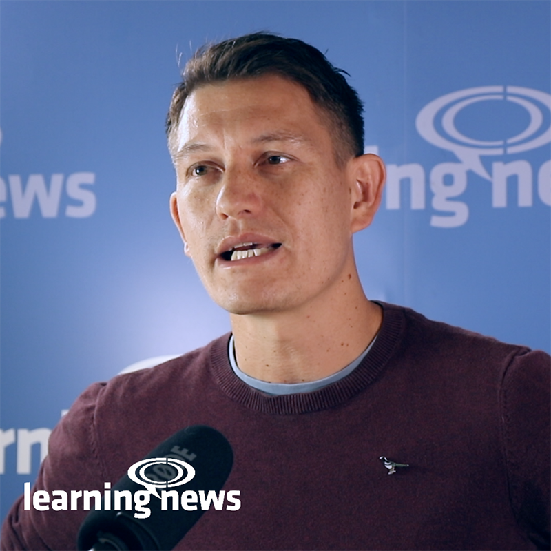 Marc Zao-Sanders, CEO of Filtered, at Learning Live 2019