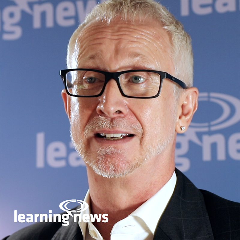 Graham Brown-Martin, opening keynote speaker, Learning Live 2019