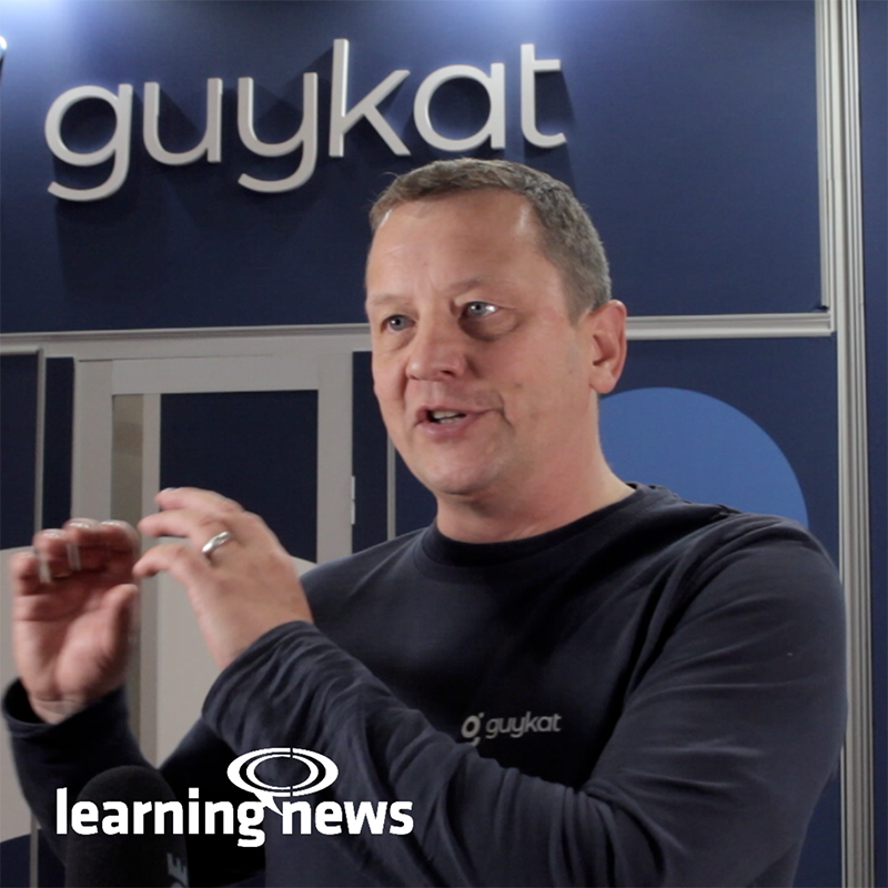 Guy McEvoy, founder and CEO of Birmingham-based elearning agency, GuyKat