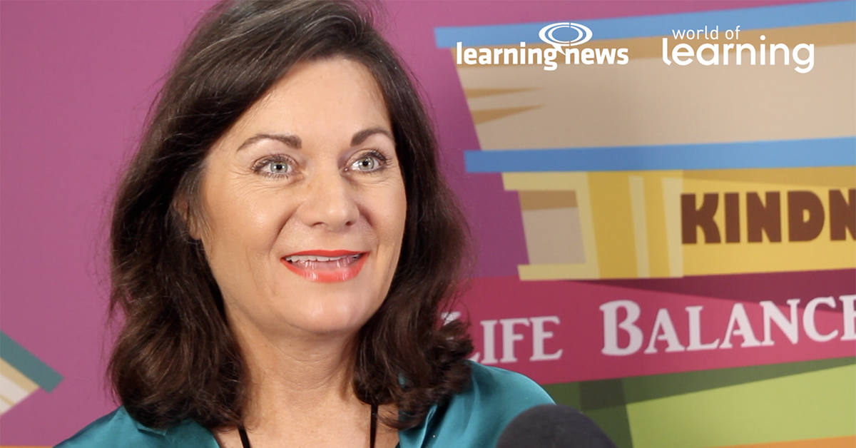 The Learning Architect, Liggy Webb, discusses Resilience at World of Learning 2019