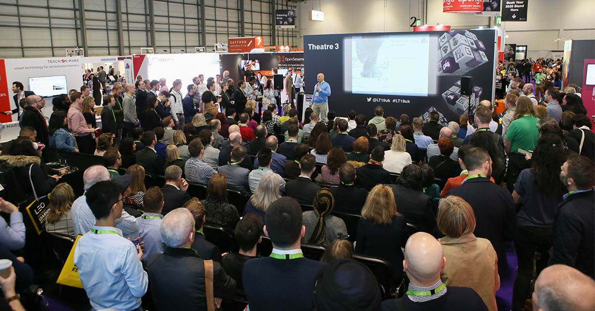 Learning Technologies 2020, 12-13 February at ExCeL London, contains over 200 free seminars across 12 exhibition theatres