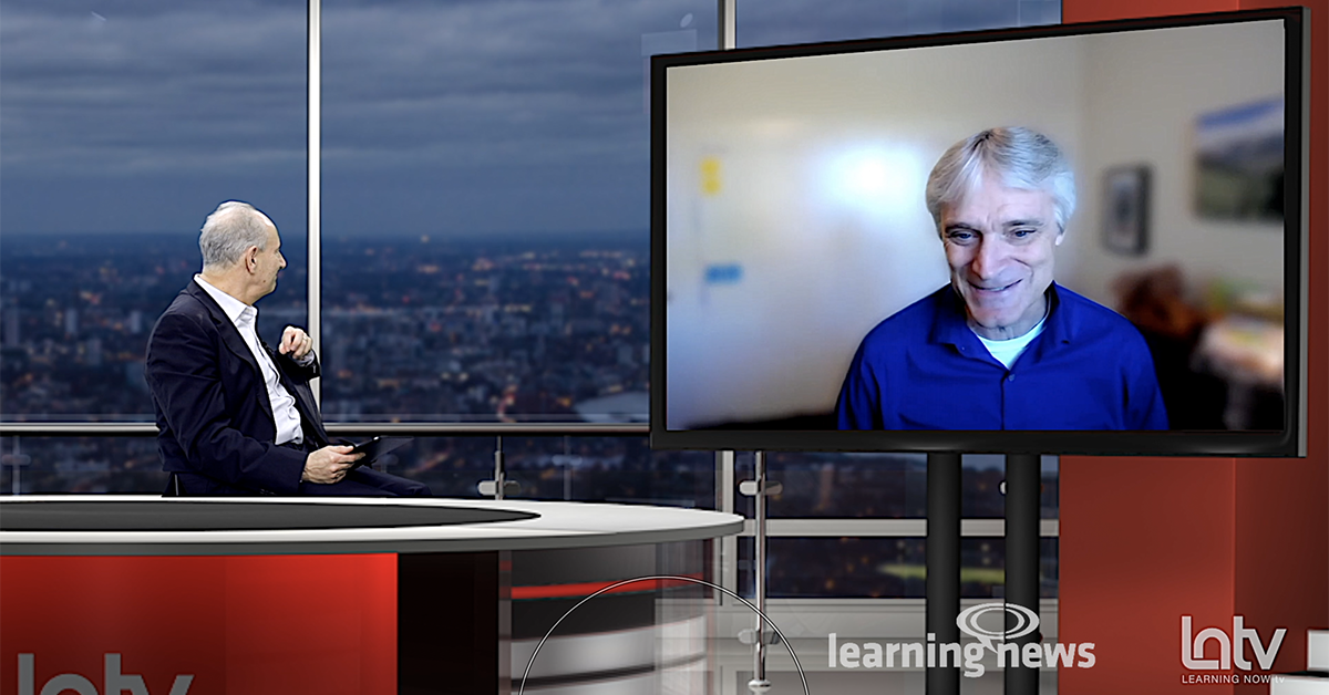 Bob Mosher on January's Learning Now TV show