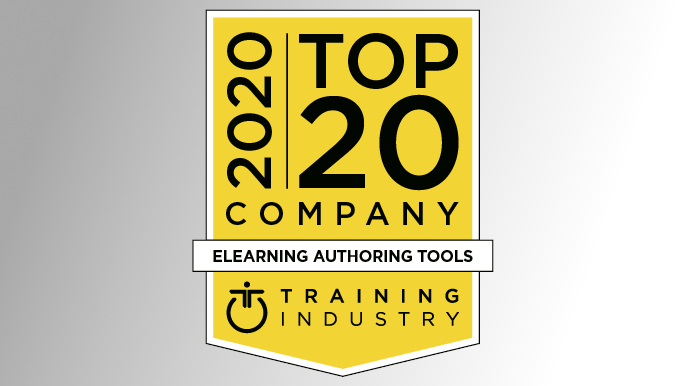 2020 marks Gomo's fourth consecutive year on the Training Industry list of the world's top eLearning authoring tools.