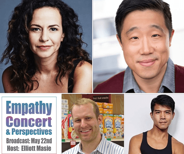Empathy! A Concert and Perspectives - Friday, May 22 at 4pm ET