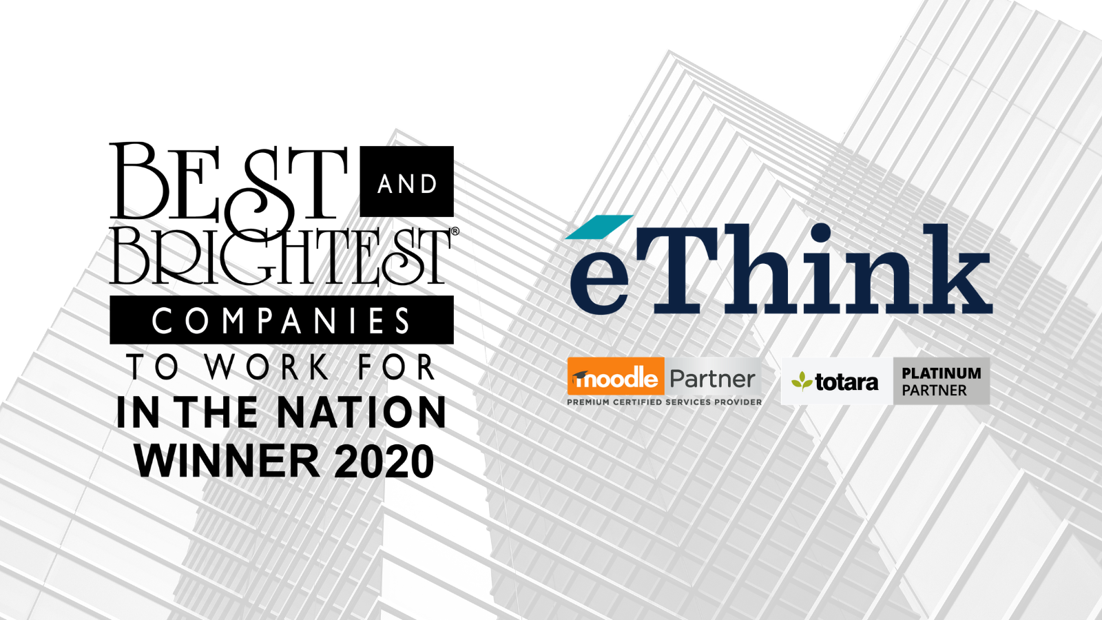 eThink Wins Best and Brightest Award