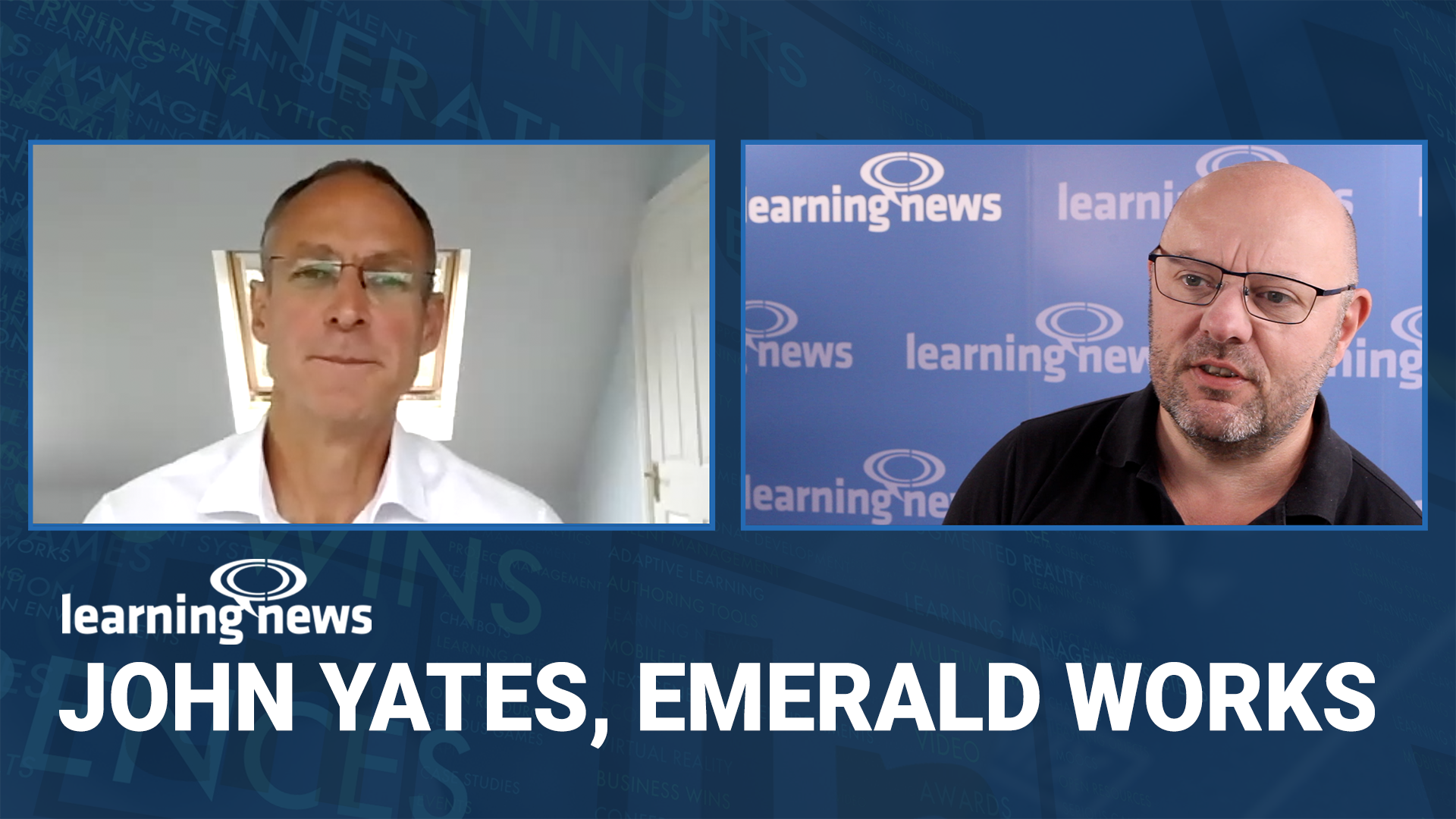 John Yates in discussion with Learning News, following his appointment as CEO at Emerald Works