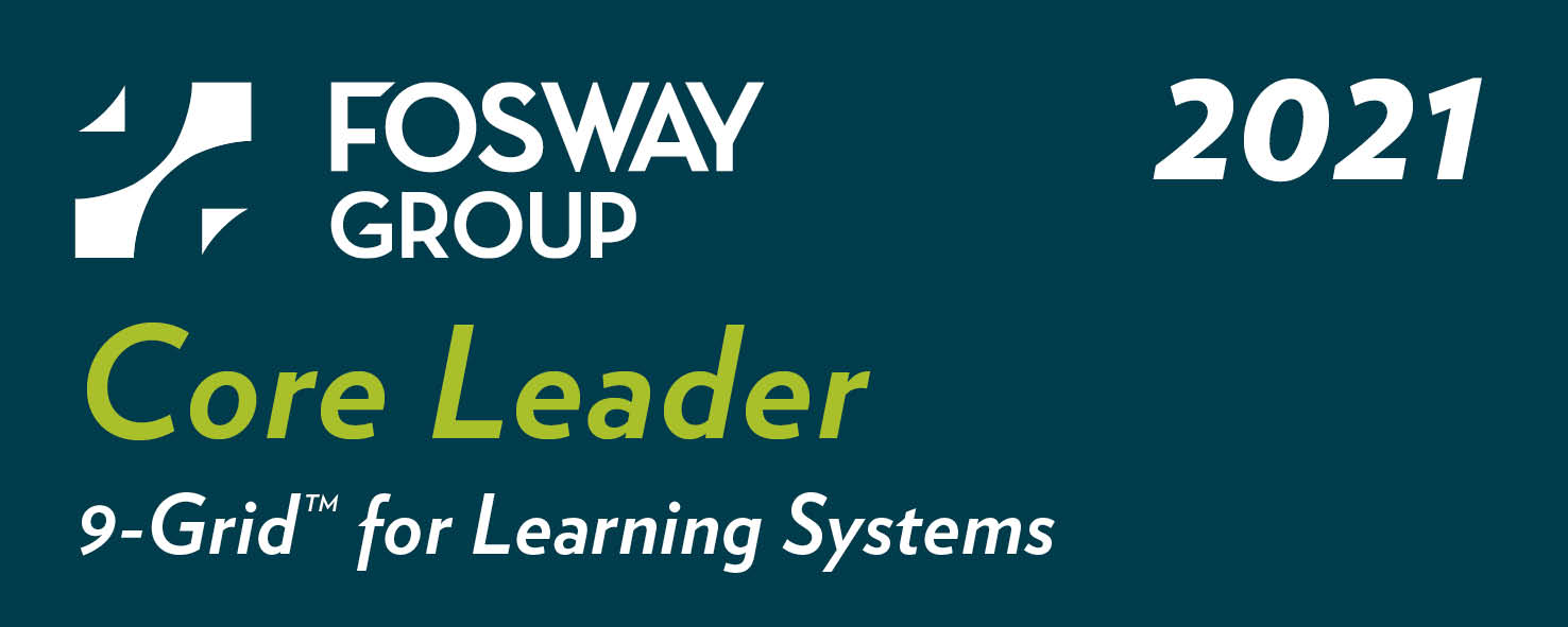 PeopleFluent has been named a Core Leader on the 2021 Fosway 9-Grid™ for Learning Systems