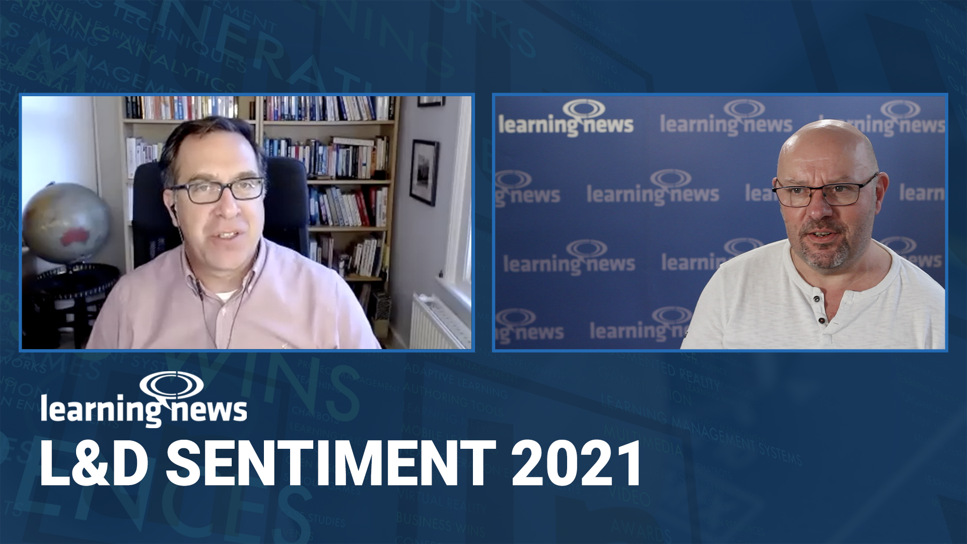 Donald H Taylor joins Learning News to explore L&D's shifting priorities
