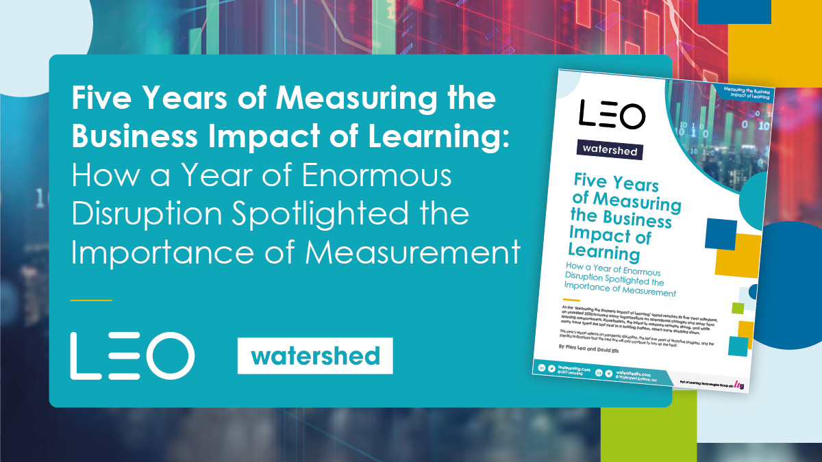 LEO Learning and Watershed's annual learning measurement survey has reached over 1,700 global L&D leaders to assess a range of topics surrounding learning measurement