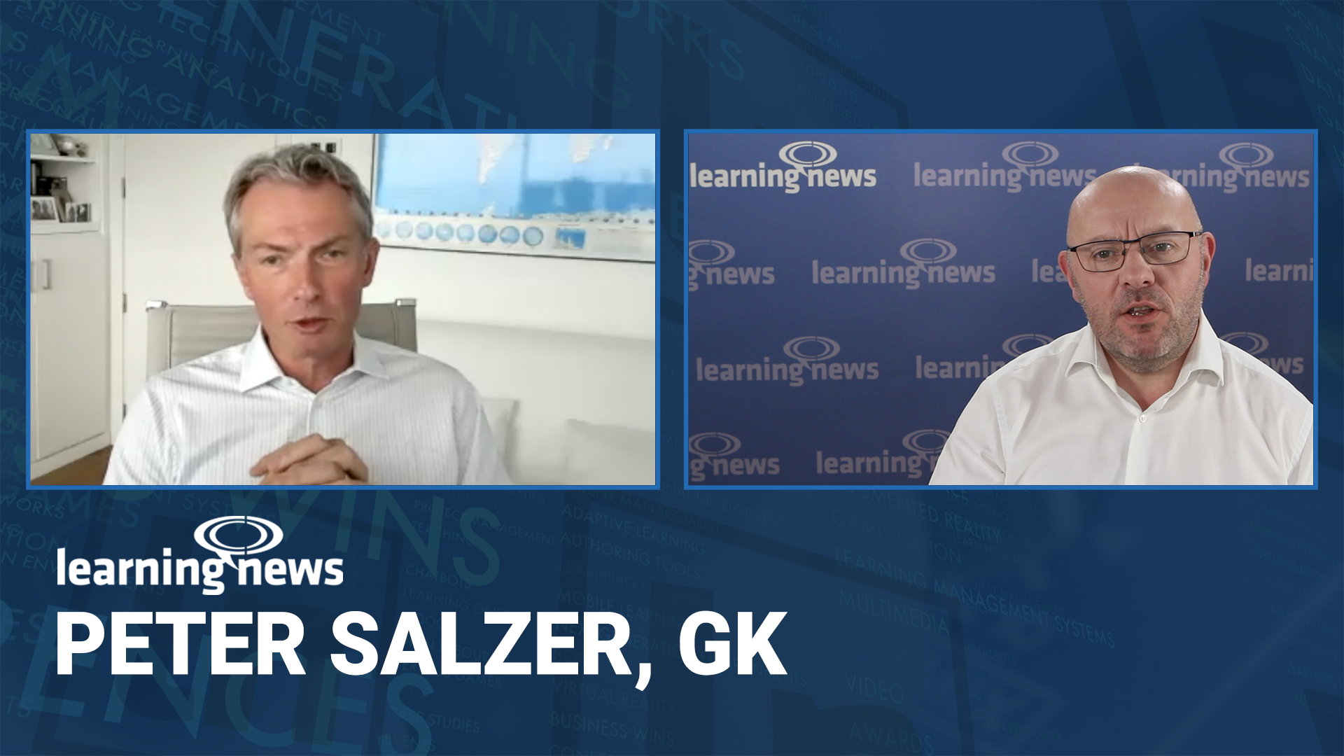 Peter Salzer, Global Knowledge, in discussion with Learning News