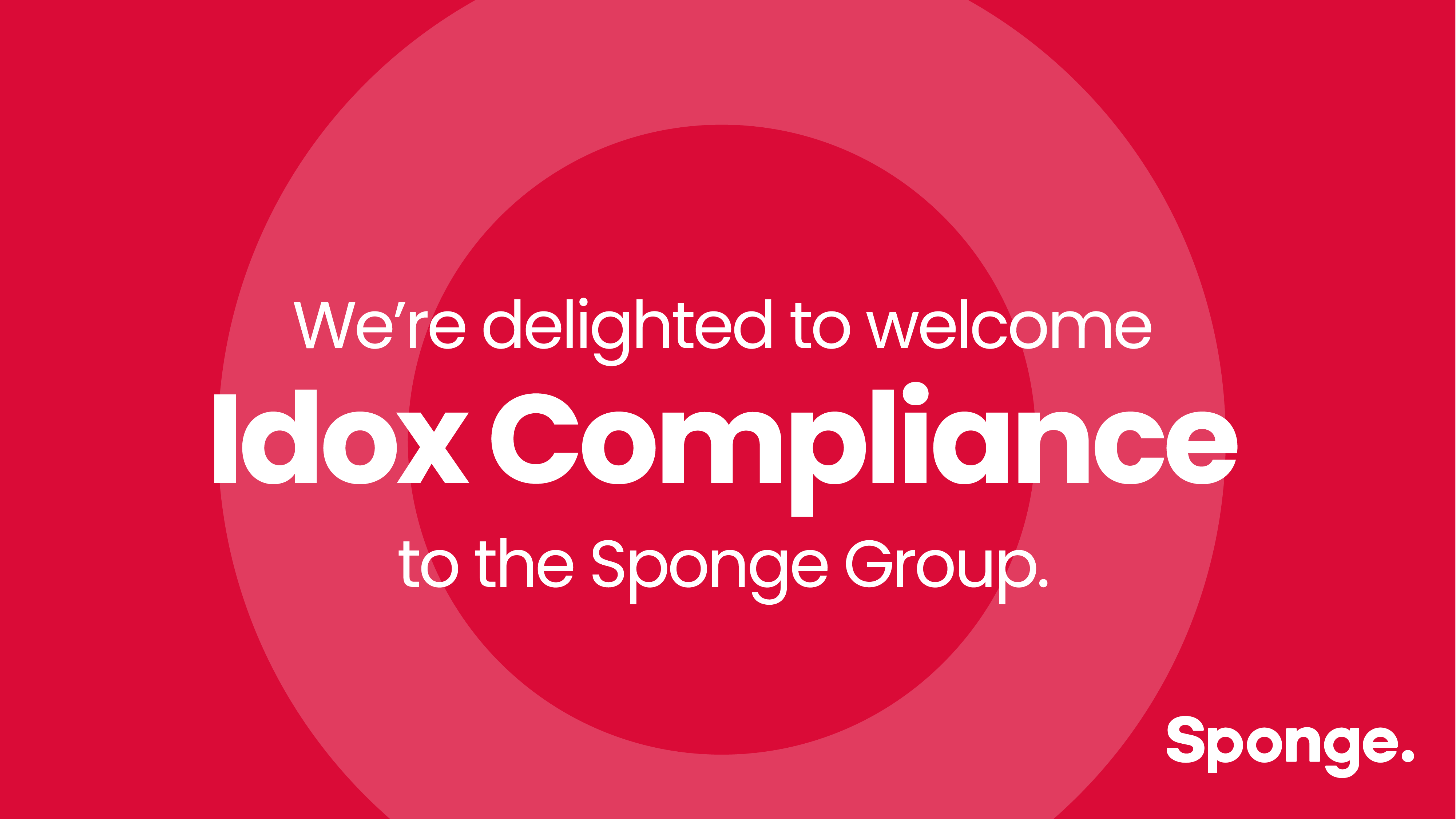 Sponge Group acquires Idox Compliance