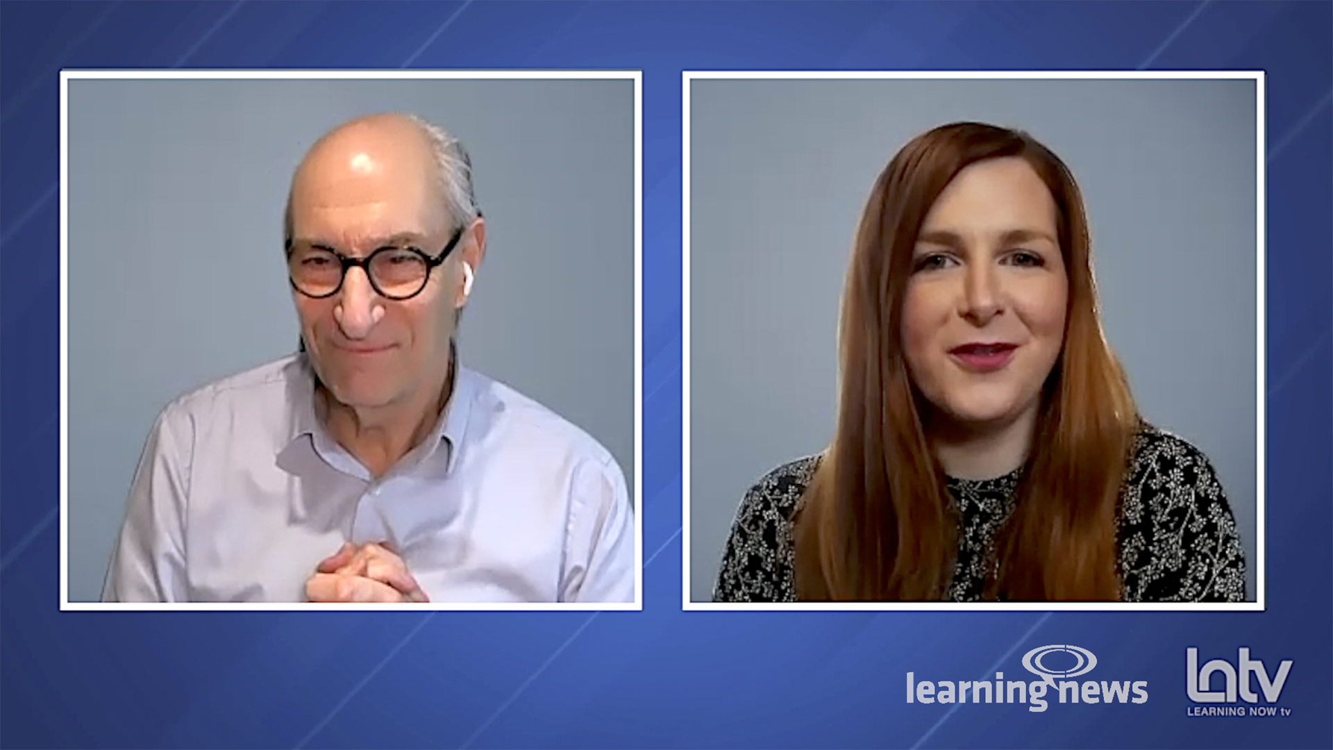 Nigel Paine and Kate Graham, LNTV, April 15, 10:00